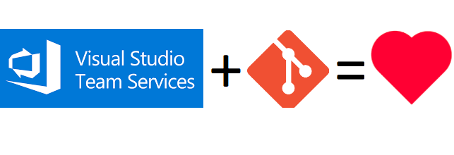 Visual Studio Team Services Git Love